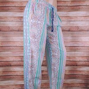 Victoria's secret ankle pajama pants Med